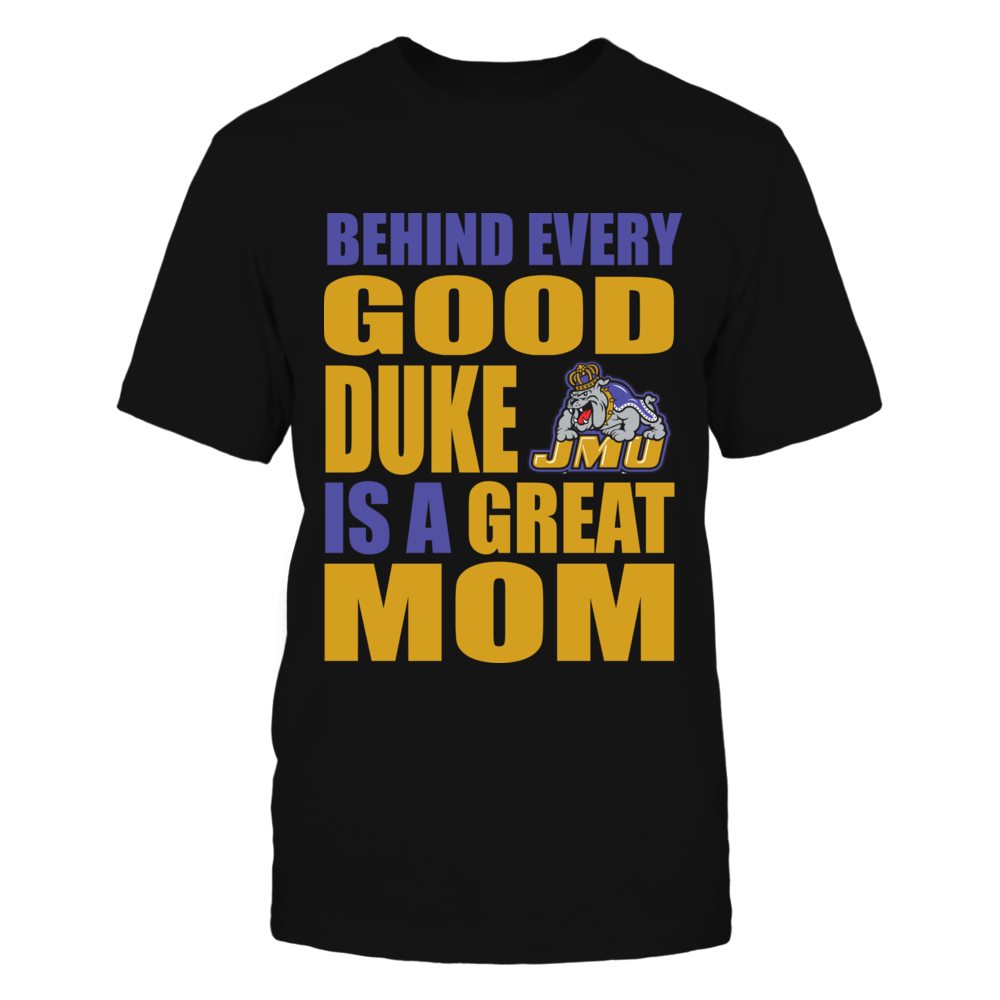 JMU Duke Mom Shirt Front picture