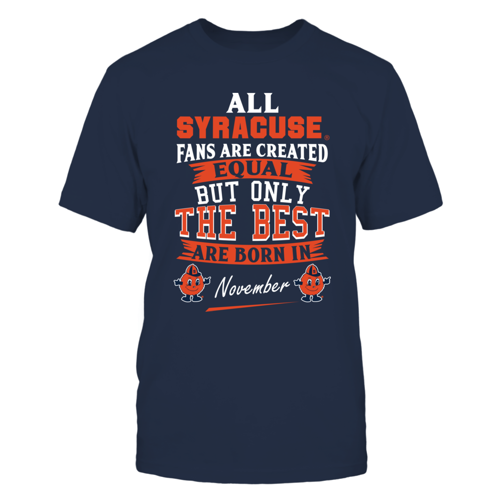 Syracuse Orange Fans - November Front picture