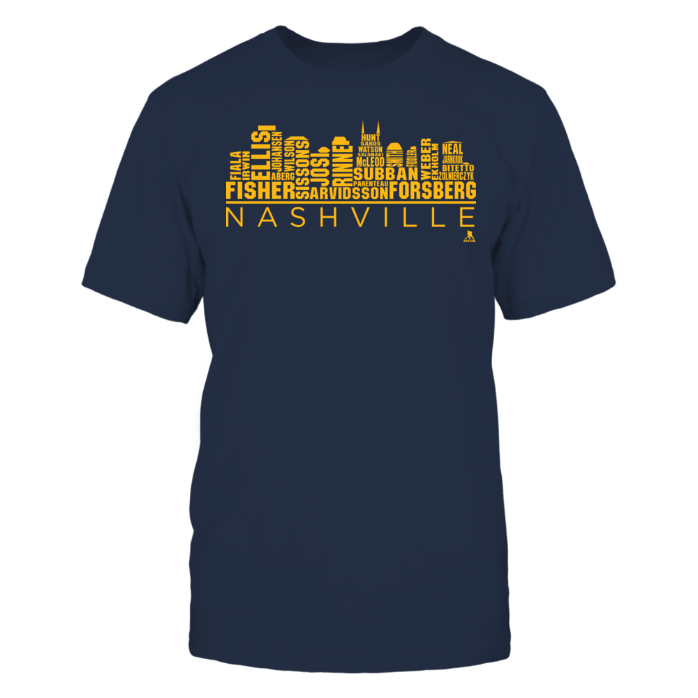 Filip Forsberg - Nashville Skyline 2017 Roster Front picture