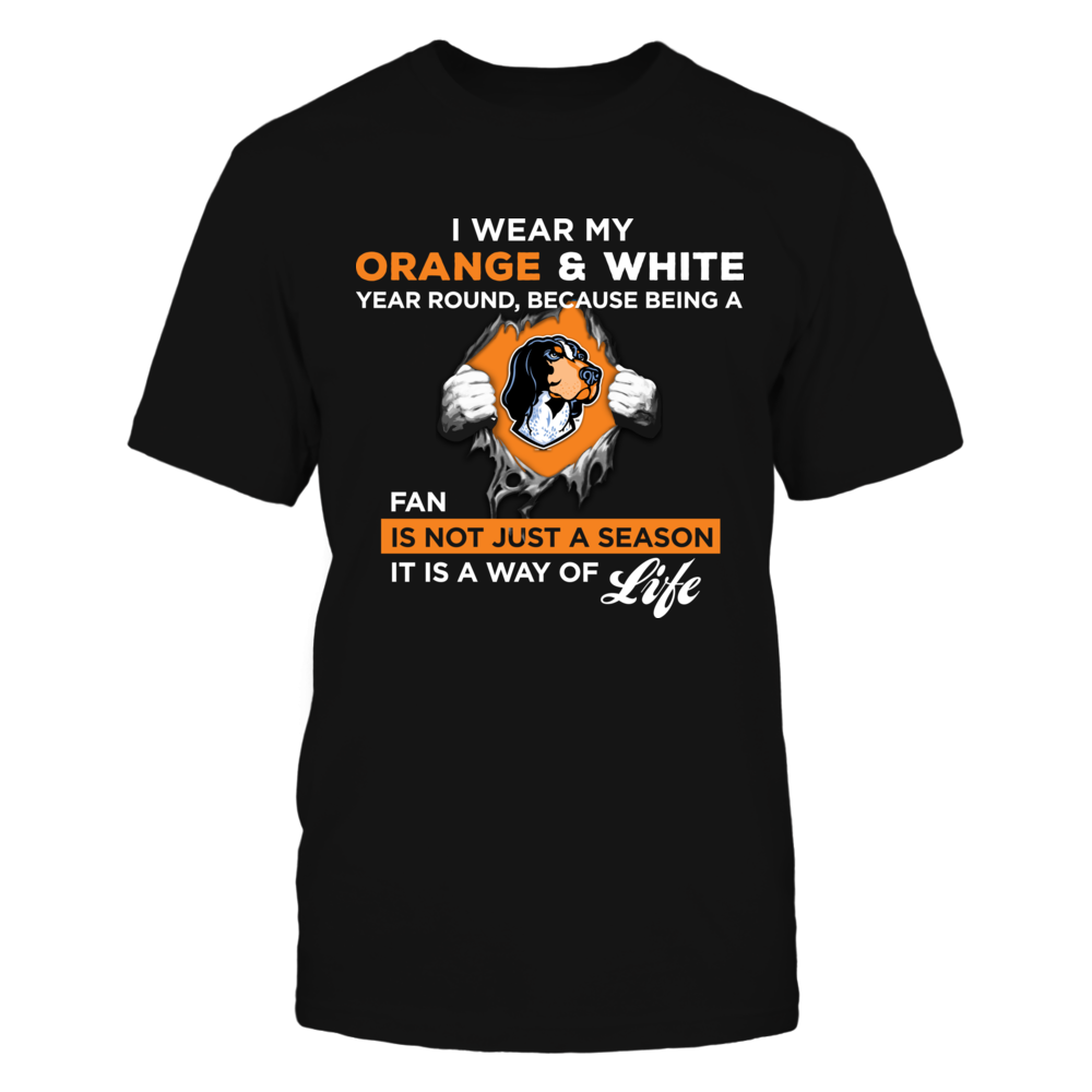 Wear My Colors - Tennessee Volunteers Front picture