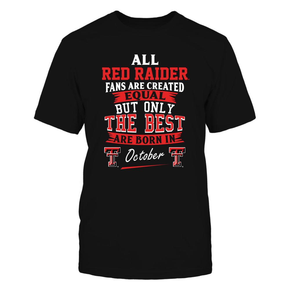 Texas Tech Red Raiders Fans - October Front picture