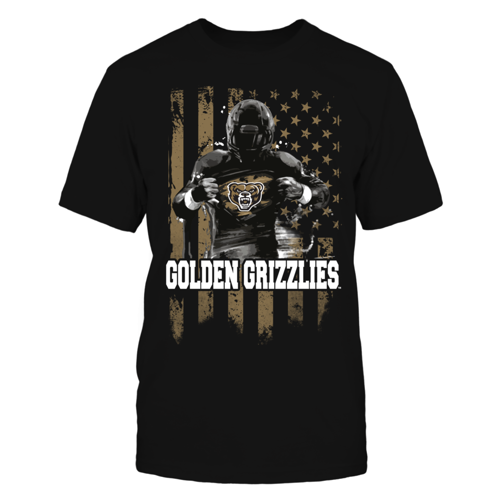 Player Flag - Oakland Golden Grizzlies Front picture