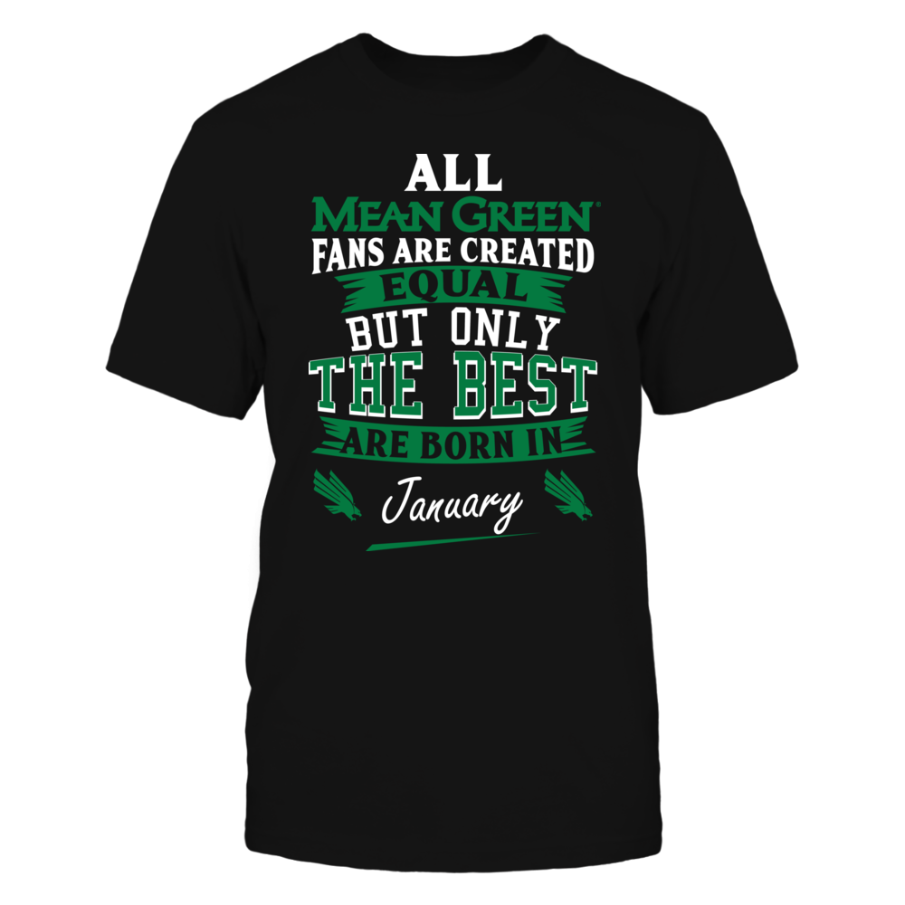 North Texas Mean Green Fans - January Front picture