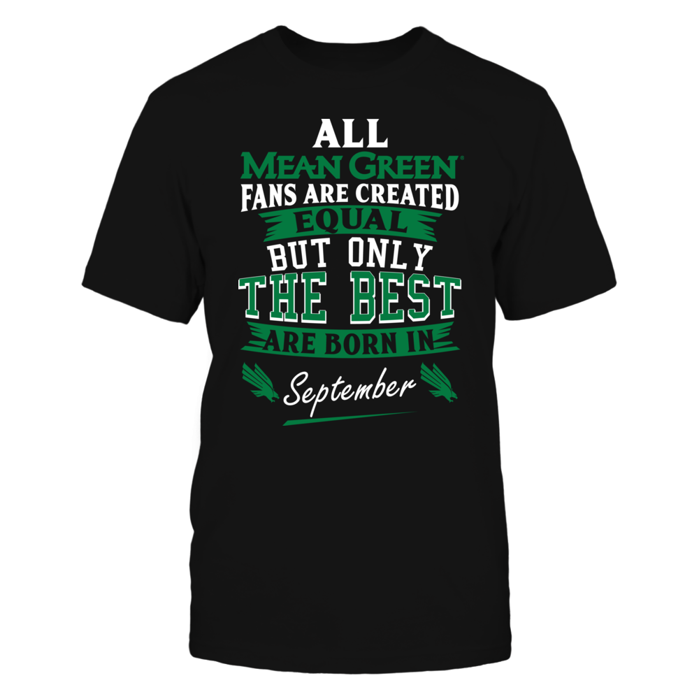 North Texas Mean Green Fans - September Front picture