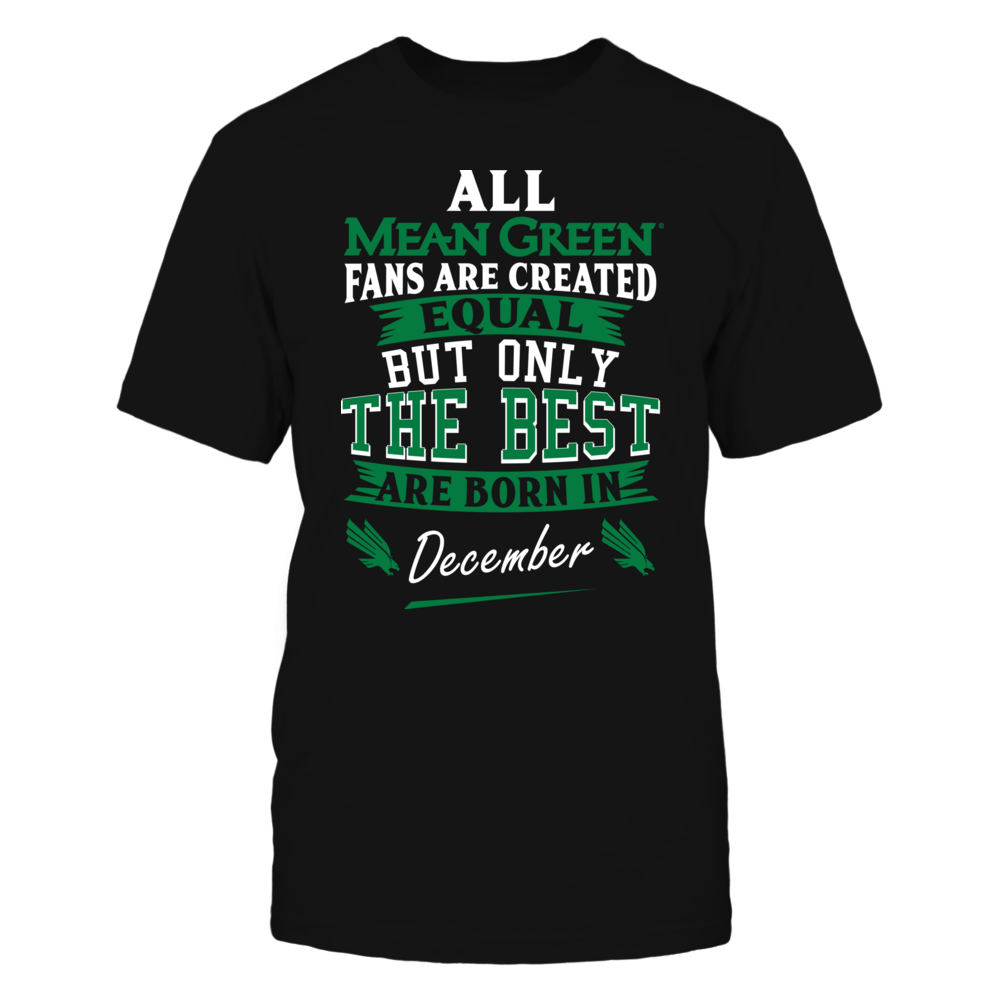 North Texas Mean Green Fans - December Front picture