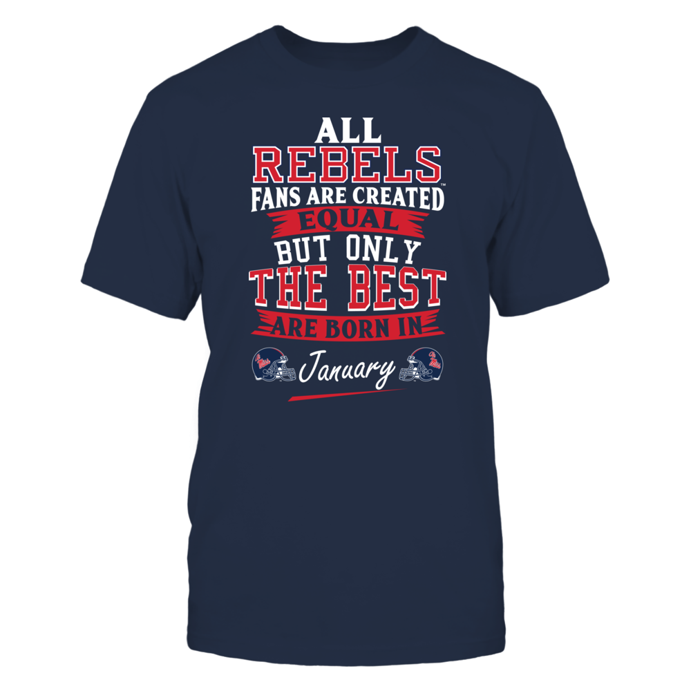 Ole Miss Rebels Fans - January Front picture