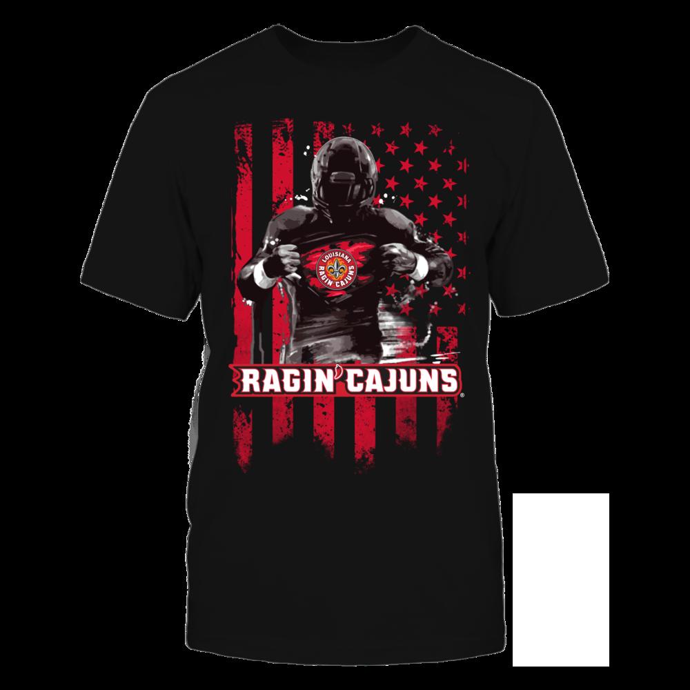 Player Flag - Louisiana-Lafayette Ragin' Cajuns Front picture