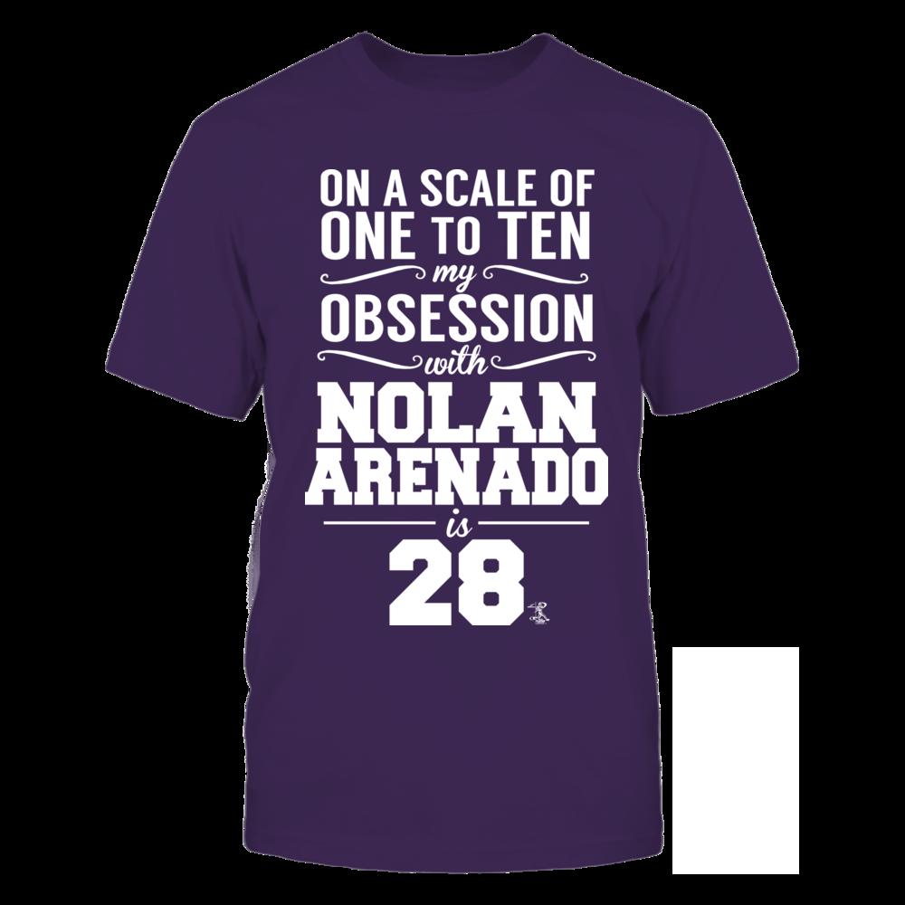 Nolan Arenado Nolan Arenado - Obsession Level FanPrint