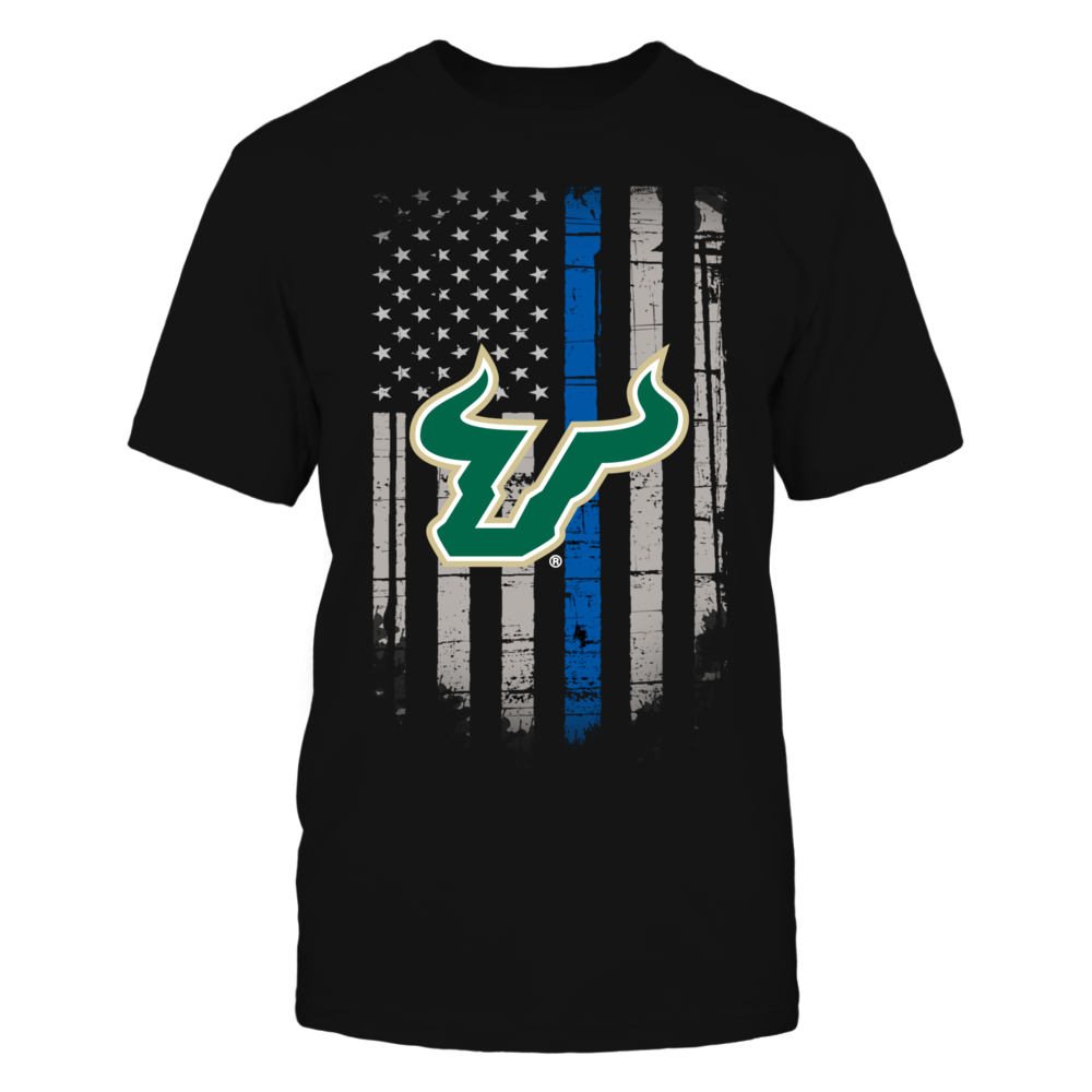 Thin Blue Line - South Florida Bulls Front picture