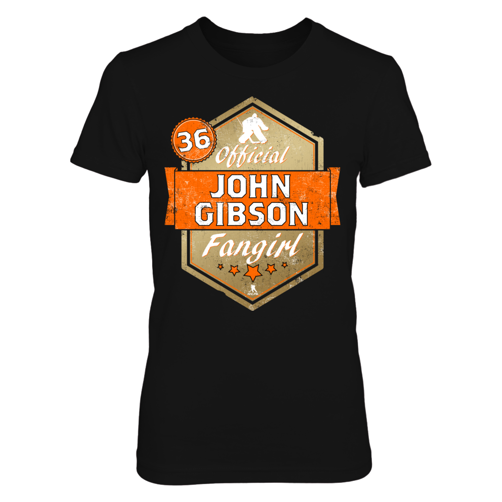 Official John Gibson Fangirl Front picture