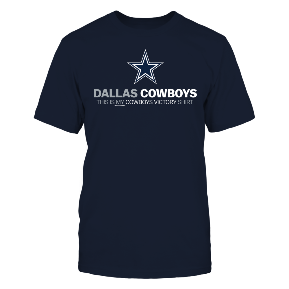This is My Victory Monday Shirt - Cowboys Front picture