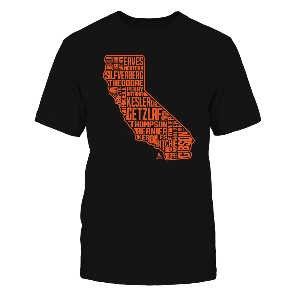 Ryan Getzlaf Ryan Getzlaf - State Outline FanPrint