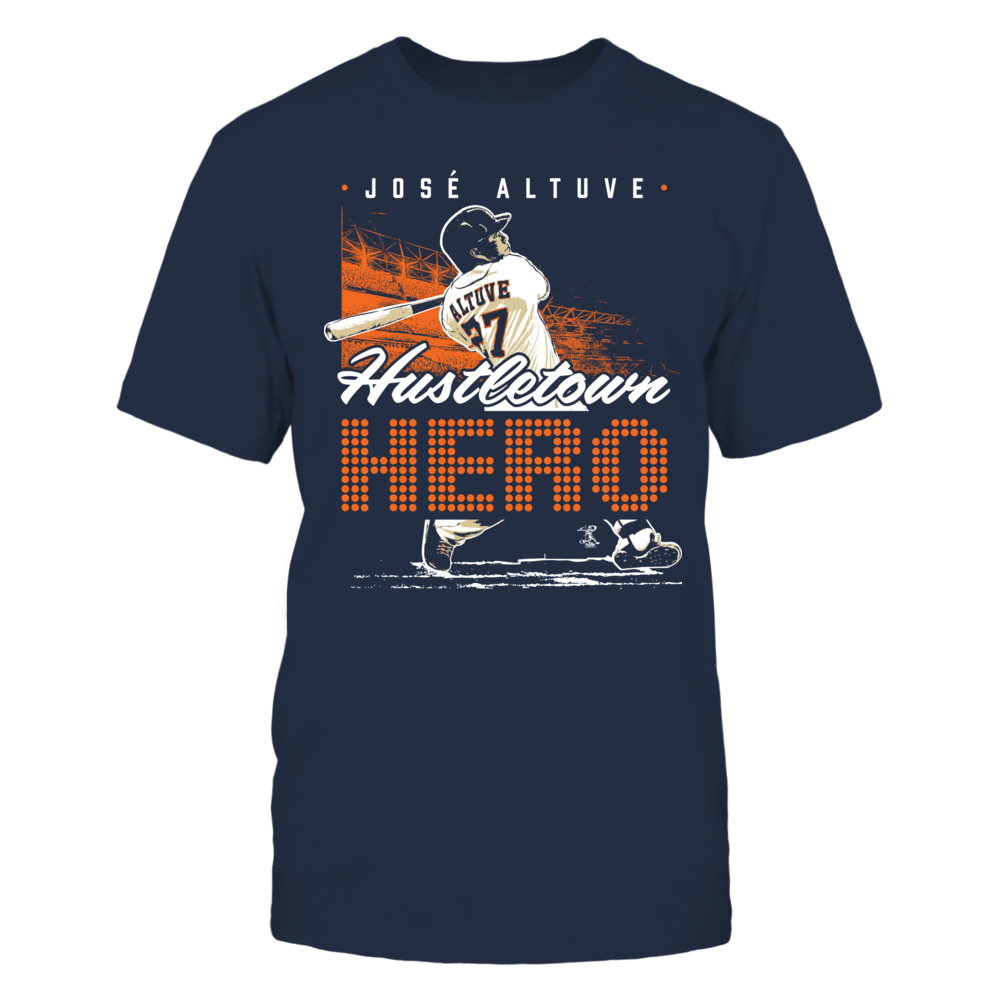 Jose Altuve - Hustletown Hero Front picture