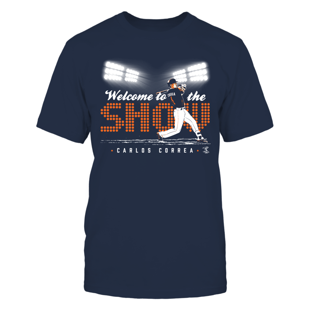 Carlos Correa Carlos Correa - Welcome To The Show FanPrint