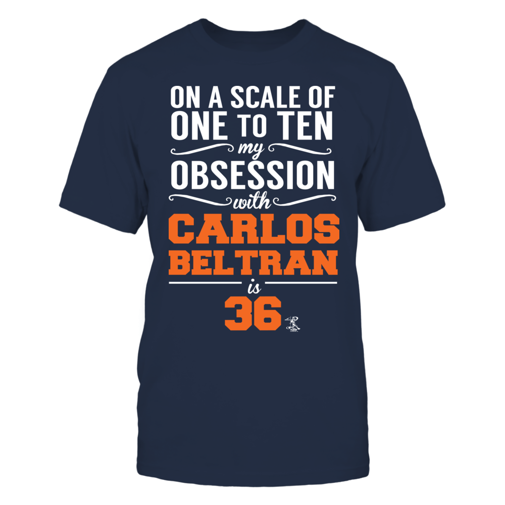 Carlos Beltran -  Obsession Front picture