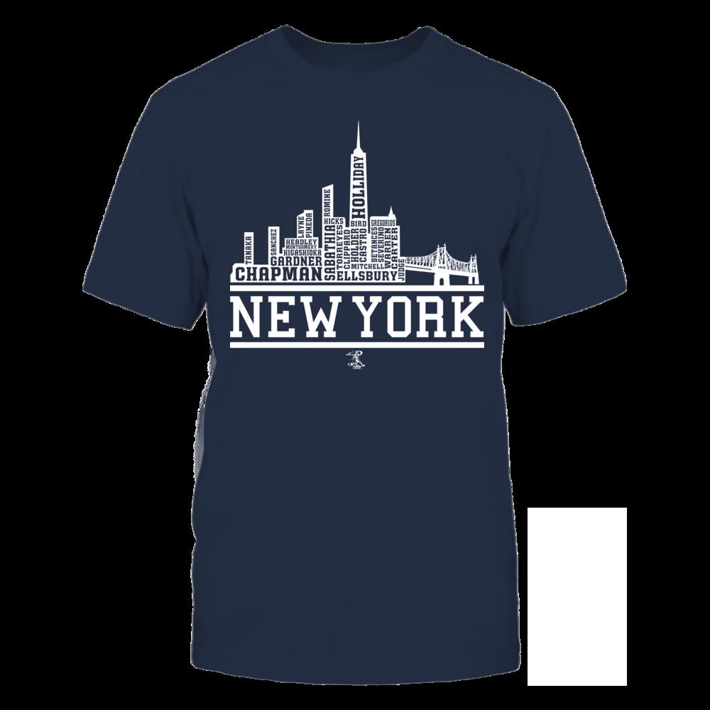 Aroldis Chapman - New York Skyline Roster Front picture