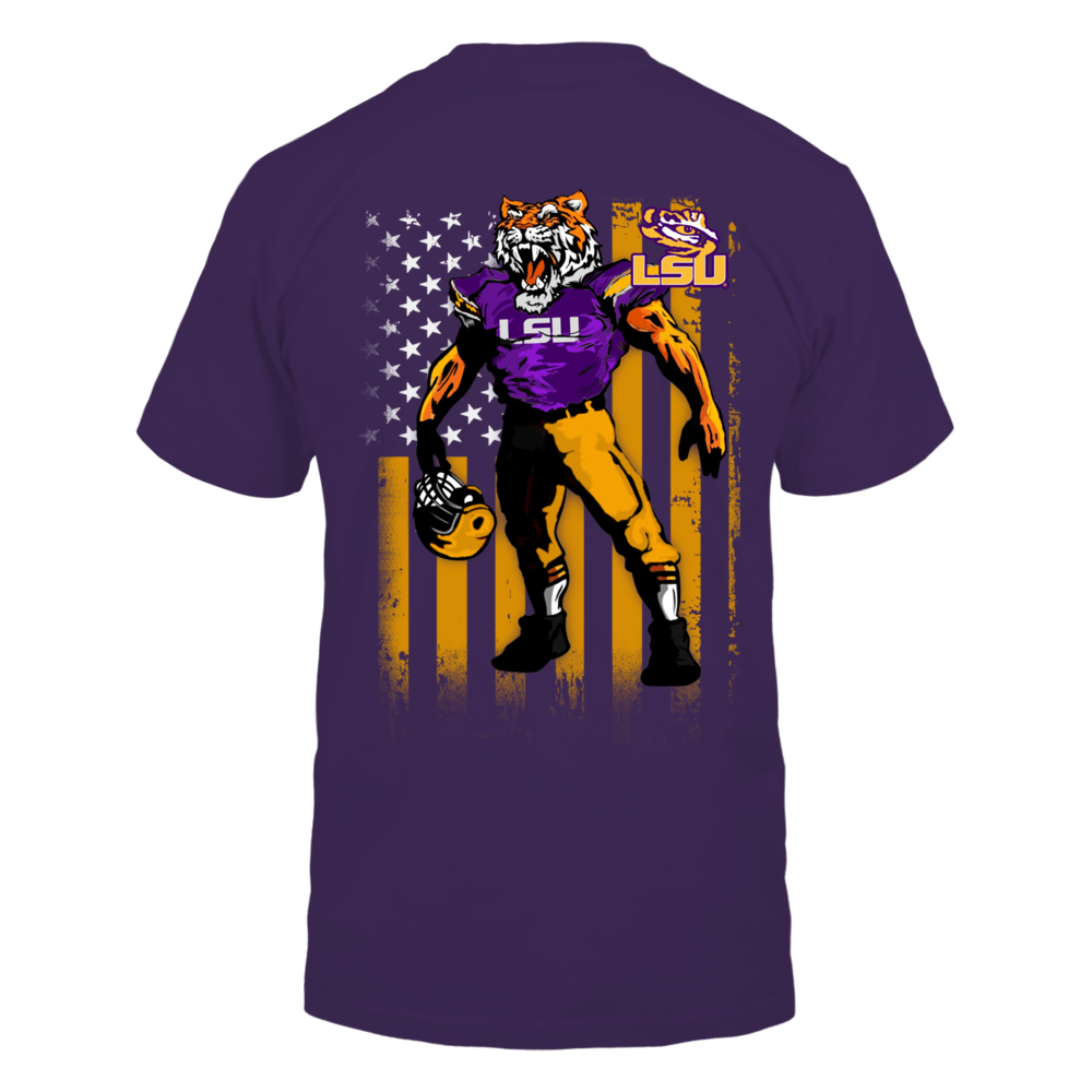 Mascot Flag - LSU Tigers Back picture