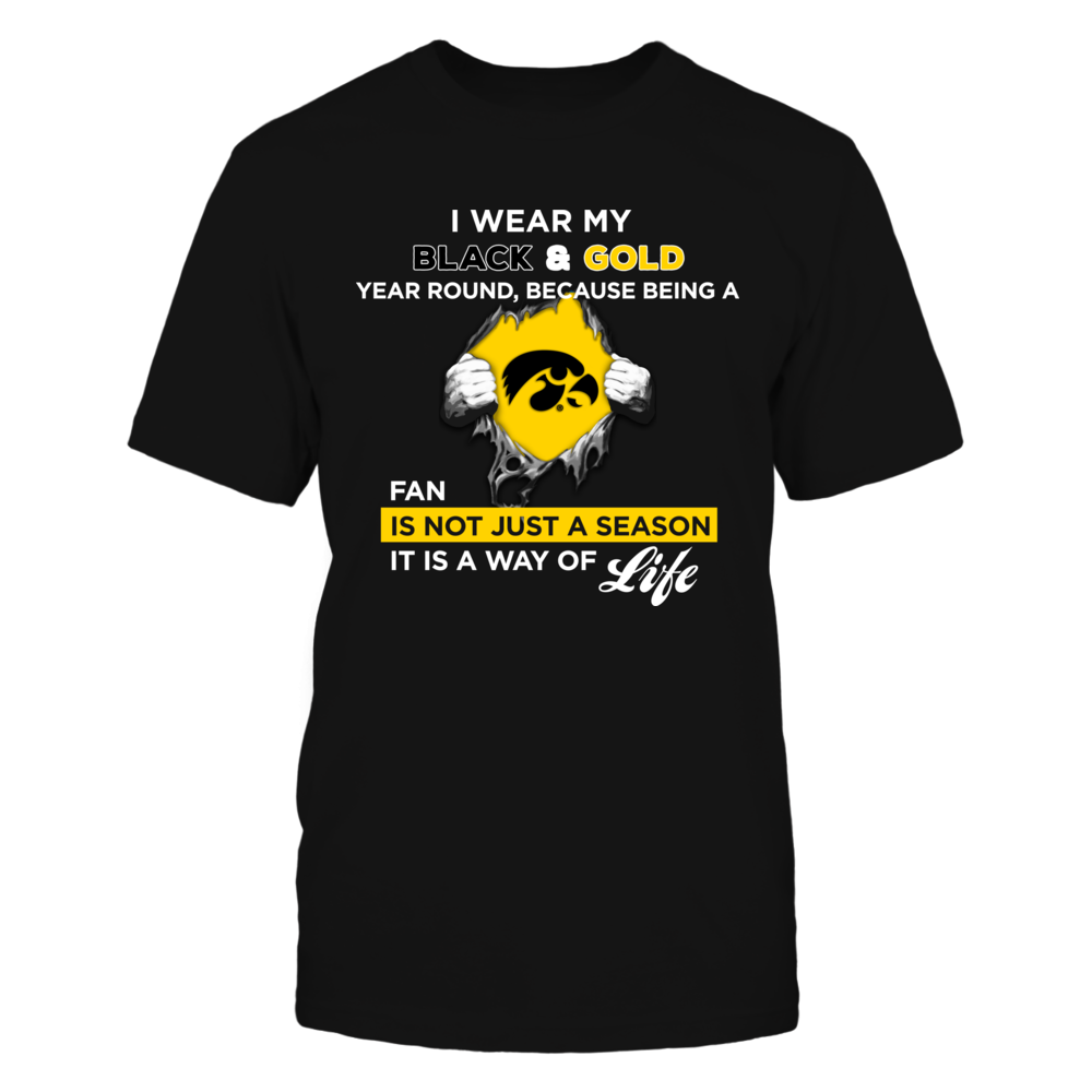 Wear My Colors - Iowa Hawkeyes Front picture