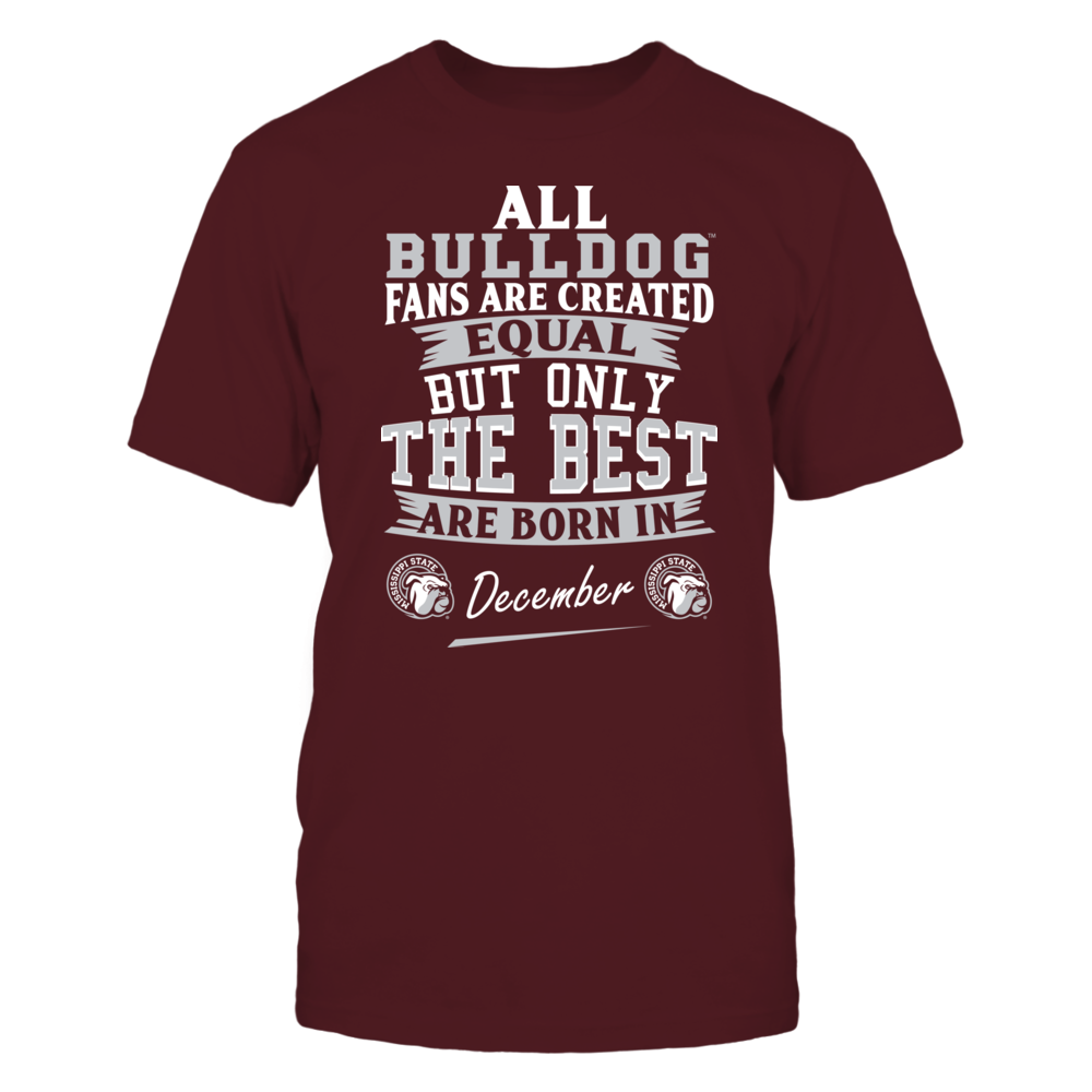 Mississippi State Bulldogs Fans - December Front picture