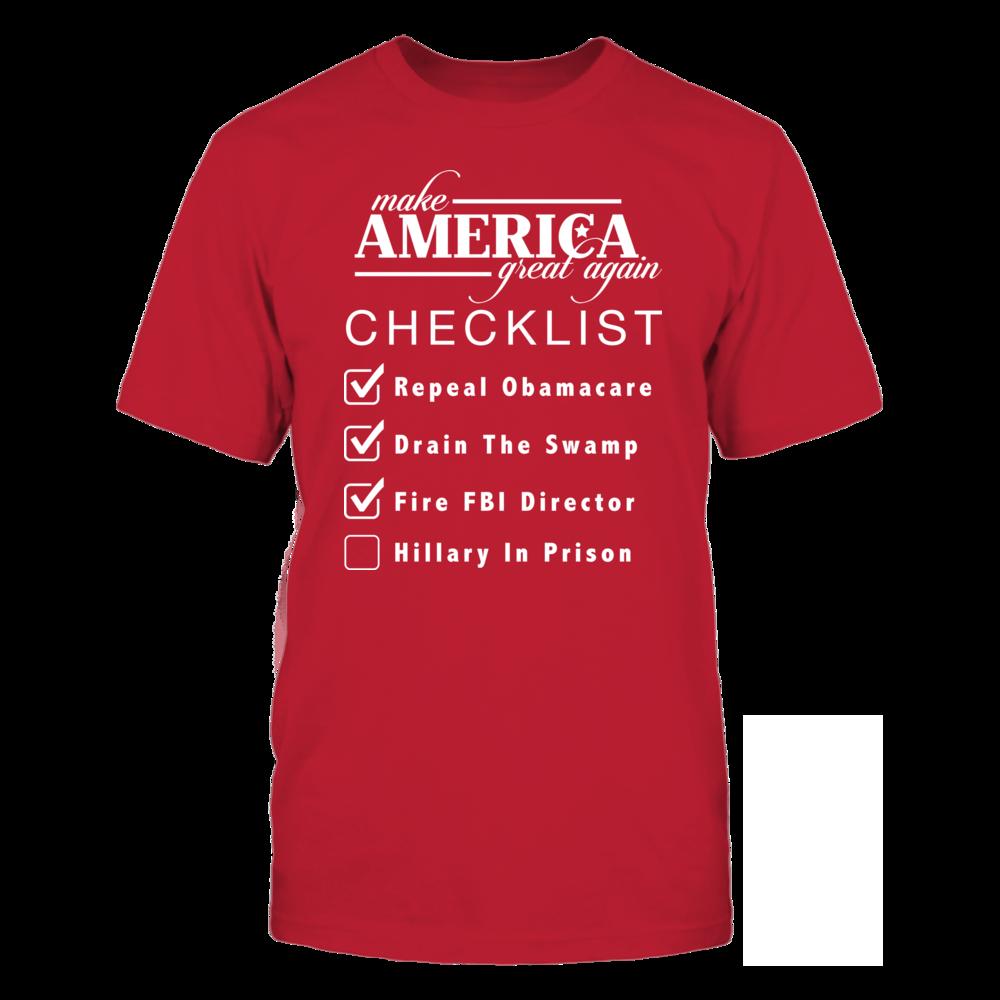 MAGA Checklist Front picture