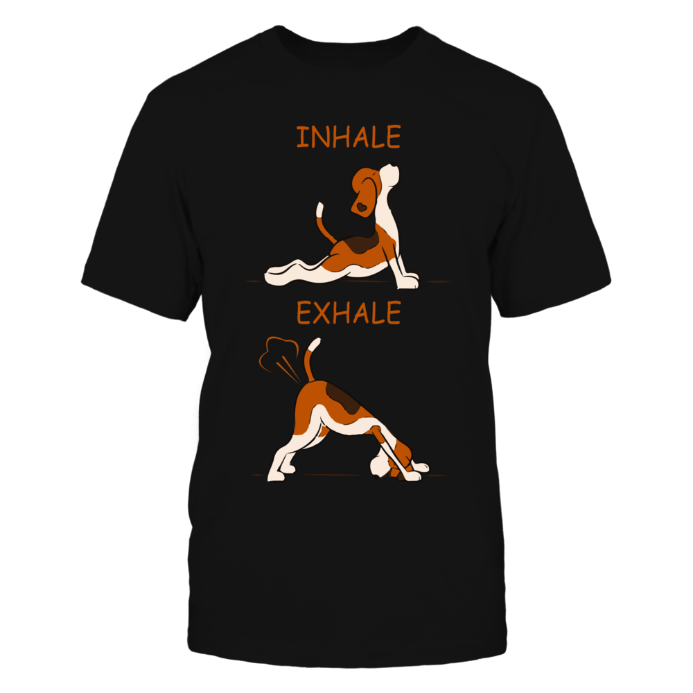 TShirt Hoodie Inhale Exhale Funny Graphic Tee FanPrint