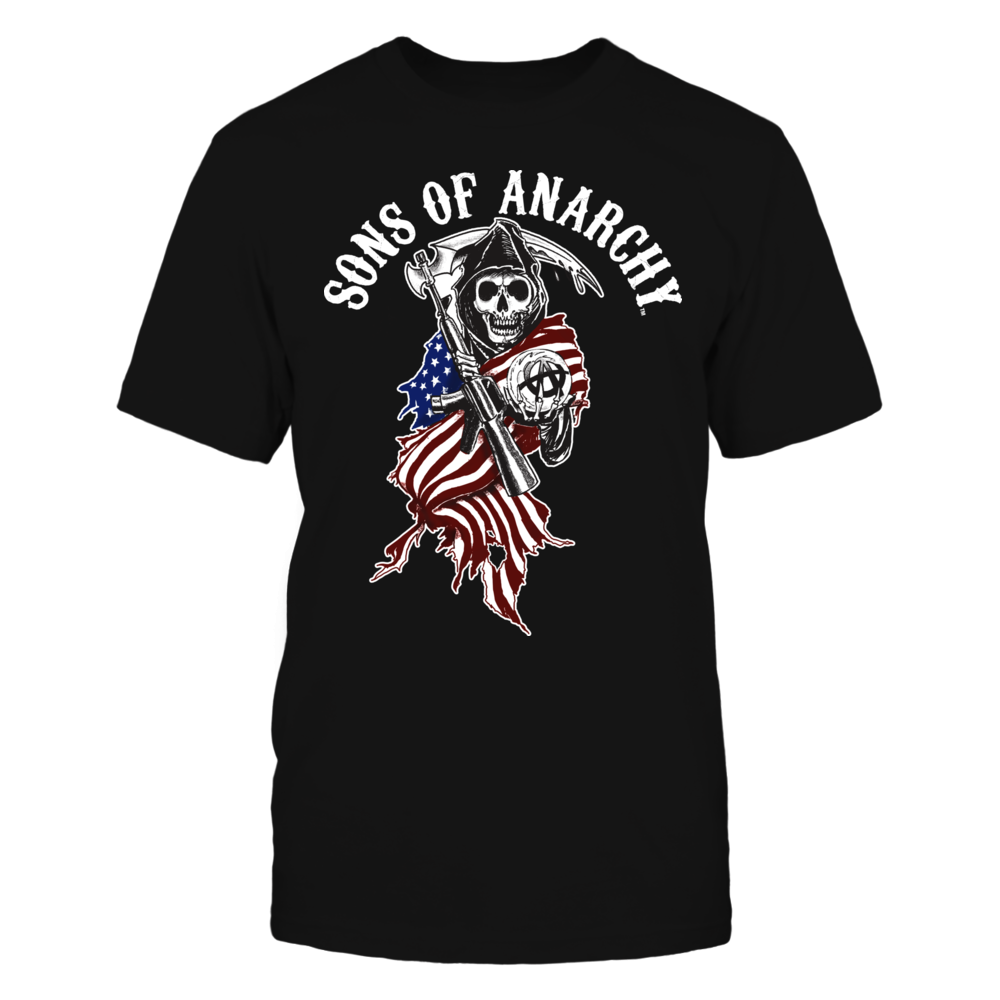 Sons of Anarchy - American Flag Cloaked Reaper Front picture