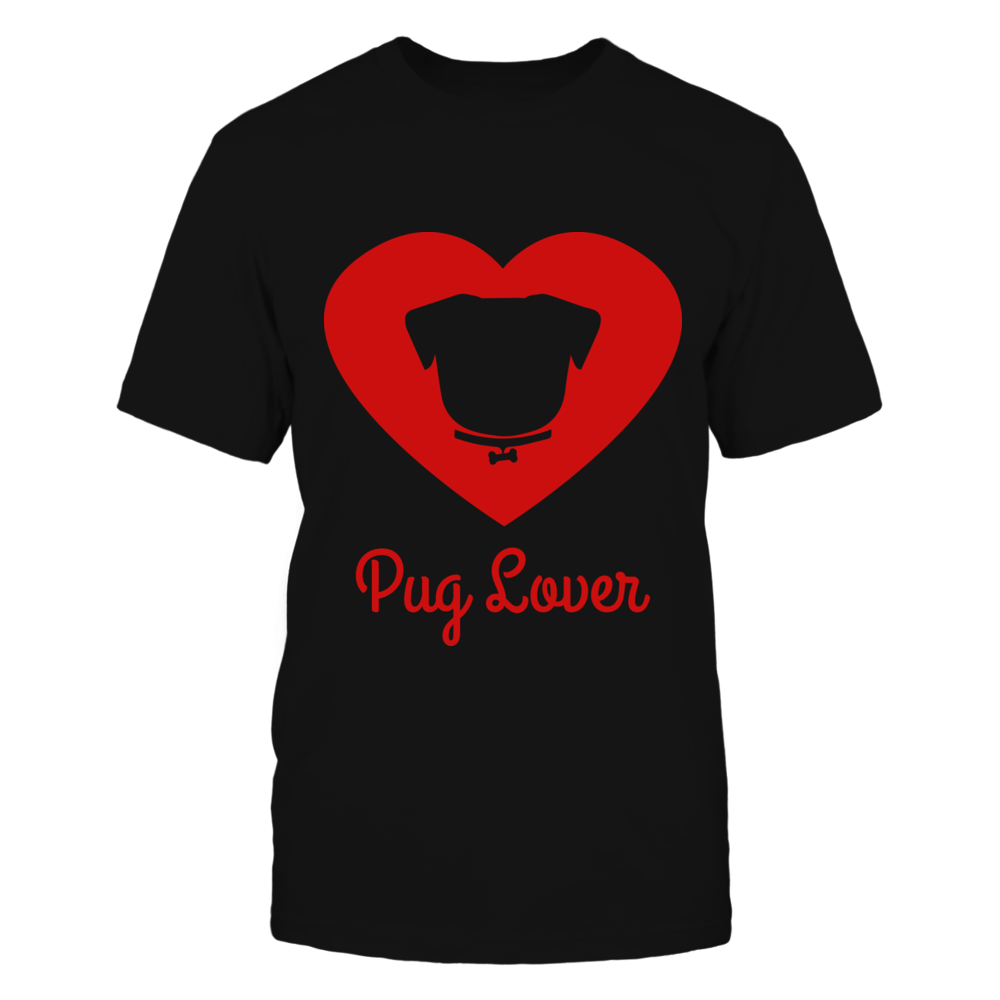 Pug Lover T shirt Front picture
