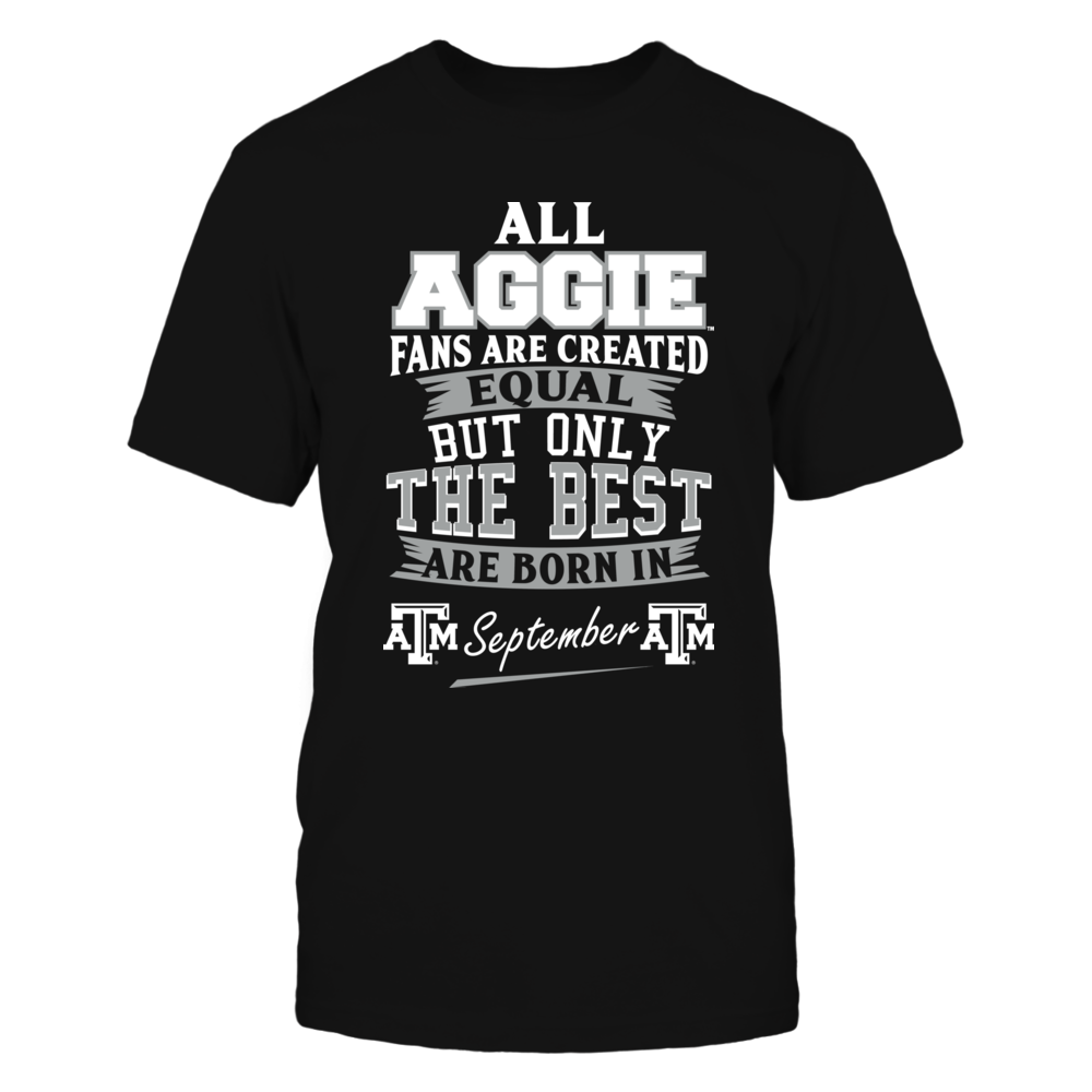 Texas A&M Aggies Fans - September Front picture