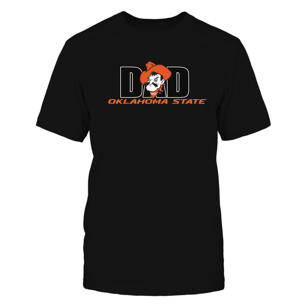 Oklahoma State Dad Rocks the Cowboys Pistol Pete Fan Club Front picture