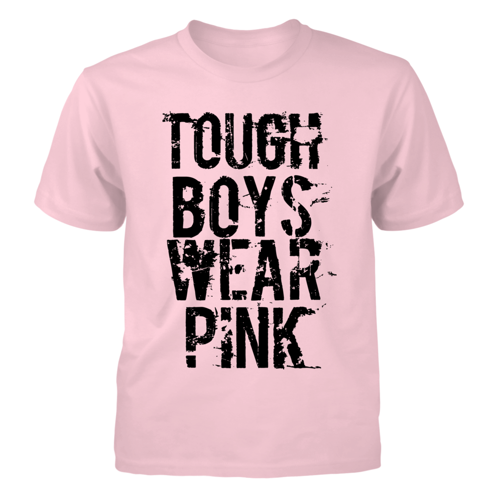 TShirt Hoodie Tough Boys Wear Pink T Shirt FanPrint