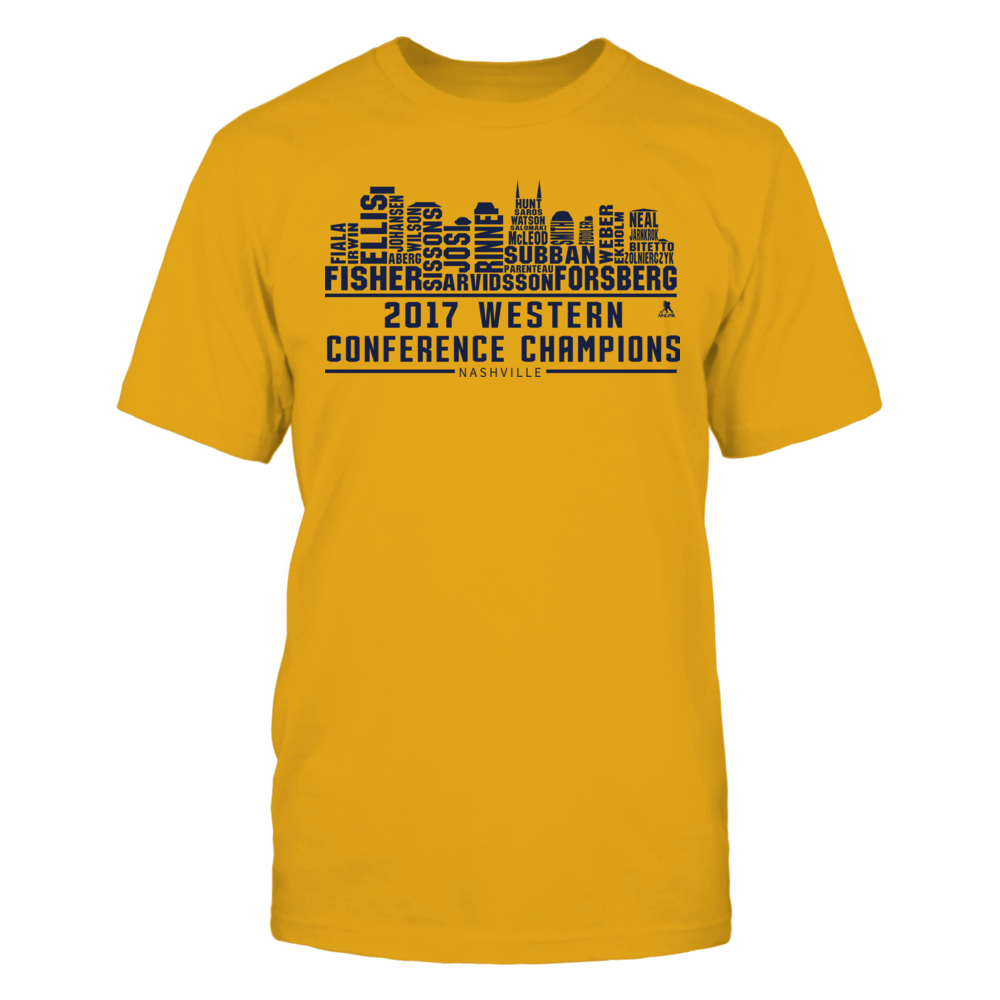 Nashville - Skyline 2017 Western Conference Champs Front picture