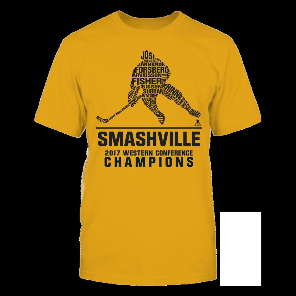 Nashville - Smashville 2017 Western Conference Champs Front picture