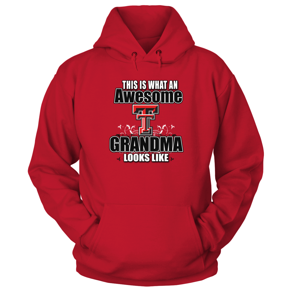 Texas Tech Red Raiders Awesome Tech Red Raiders Grandma Apparel for the Women Who has Everything FanPrint