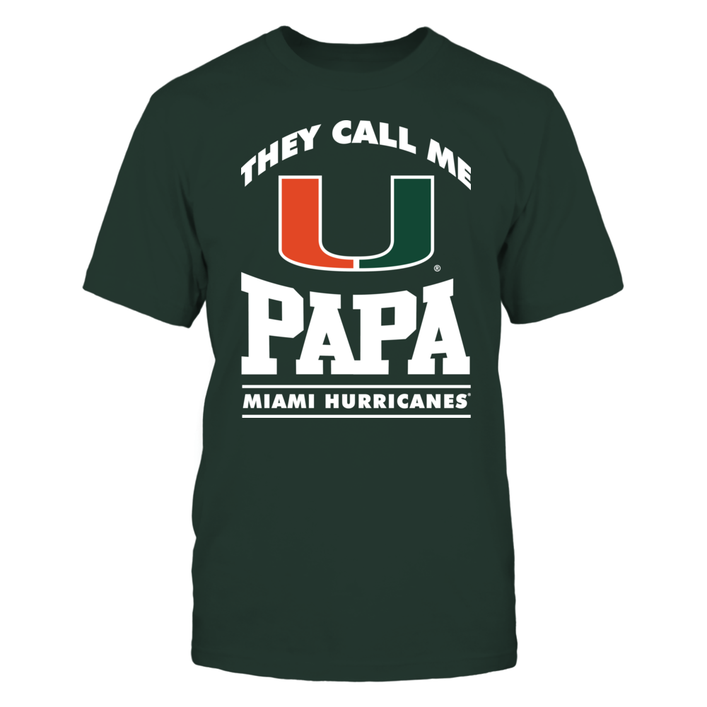 They Call Me Papa - Miami Hurricanes Front picture