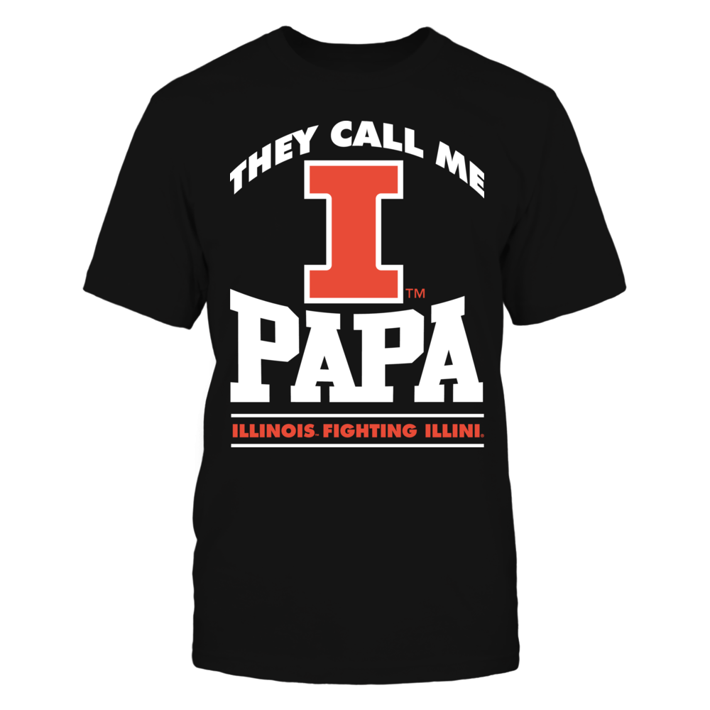 They Call Me Papa - Illinois Fighting Illini Front picture
