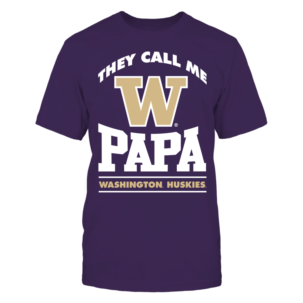 They Call Me Papa - Washington Huskies Front picture