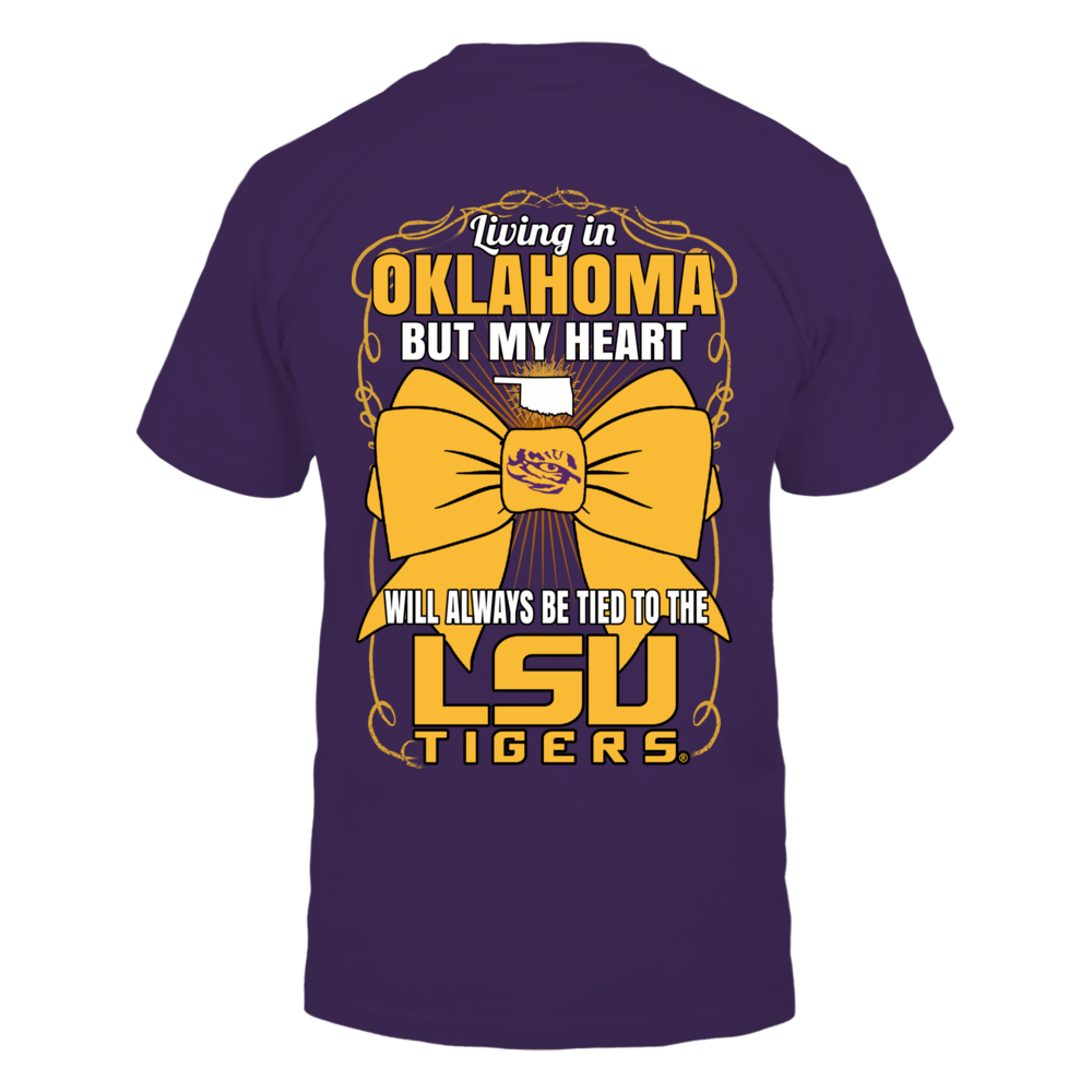 LSU Tigers - Living in Oklahoma Back picture