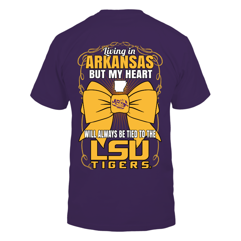 LSU Tigers - Living in Arkansas Back picture