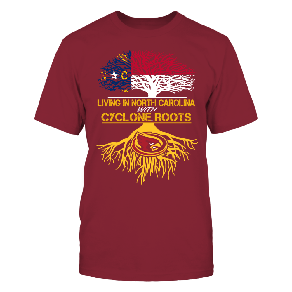 Iowa State Cyclones - Living Roots North Carolina Front picture