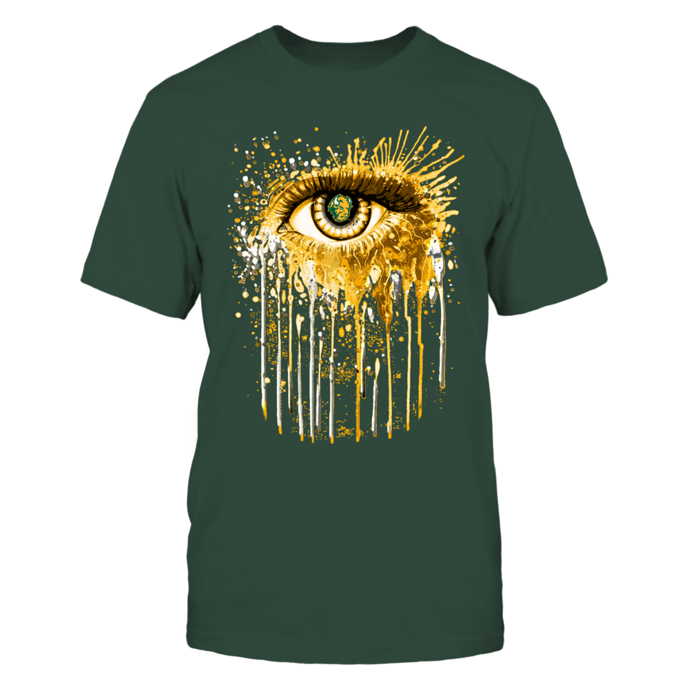 North Dakota State Bison eye Front picture
