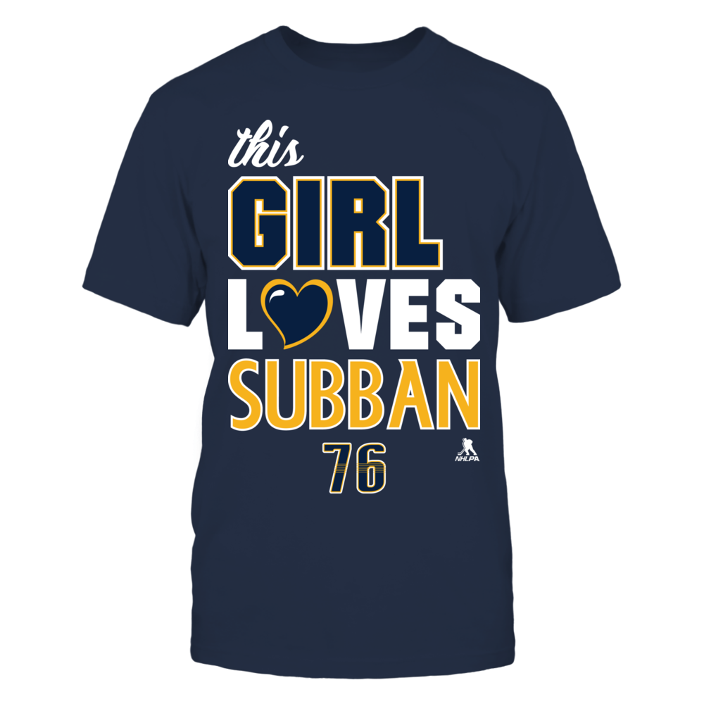 This Girl Loves Subban Front picture