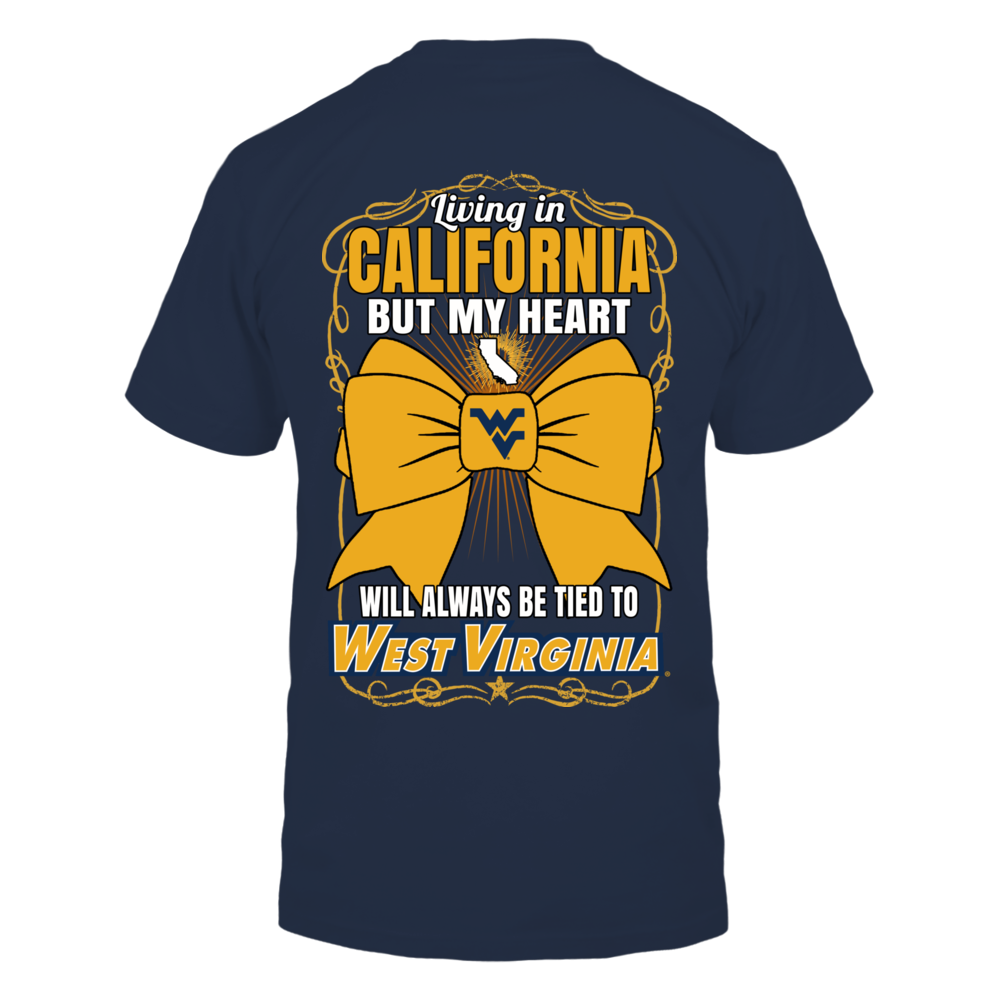 West Virginia Mountaineers - Living In California Back picture