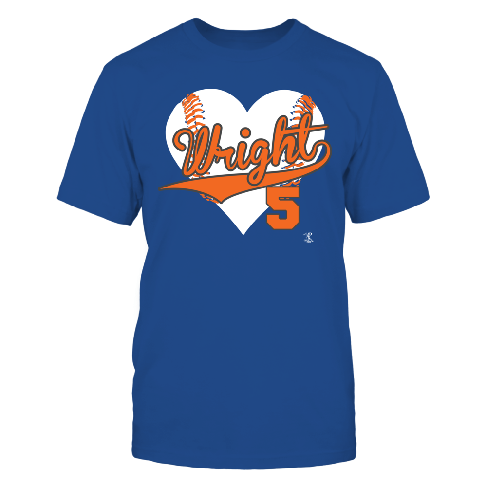 David Wright - Baseball Heart Front picture