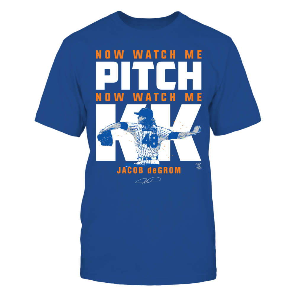 Jacob deGrom - Watch Me Pitch Front picture