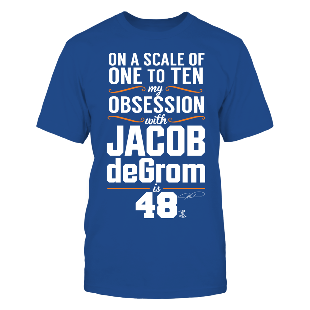 Jacob deGrom - Obsession Level Front picture