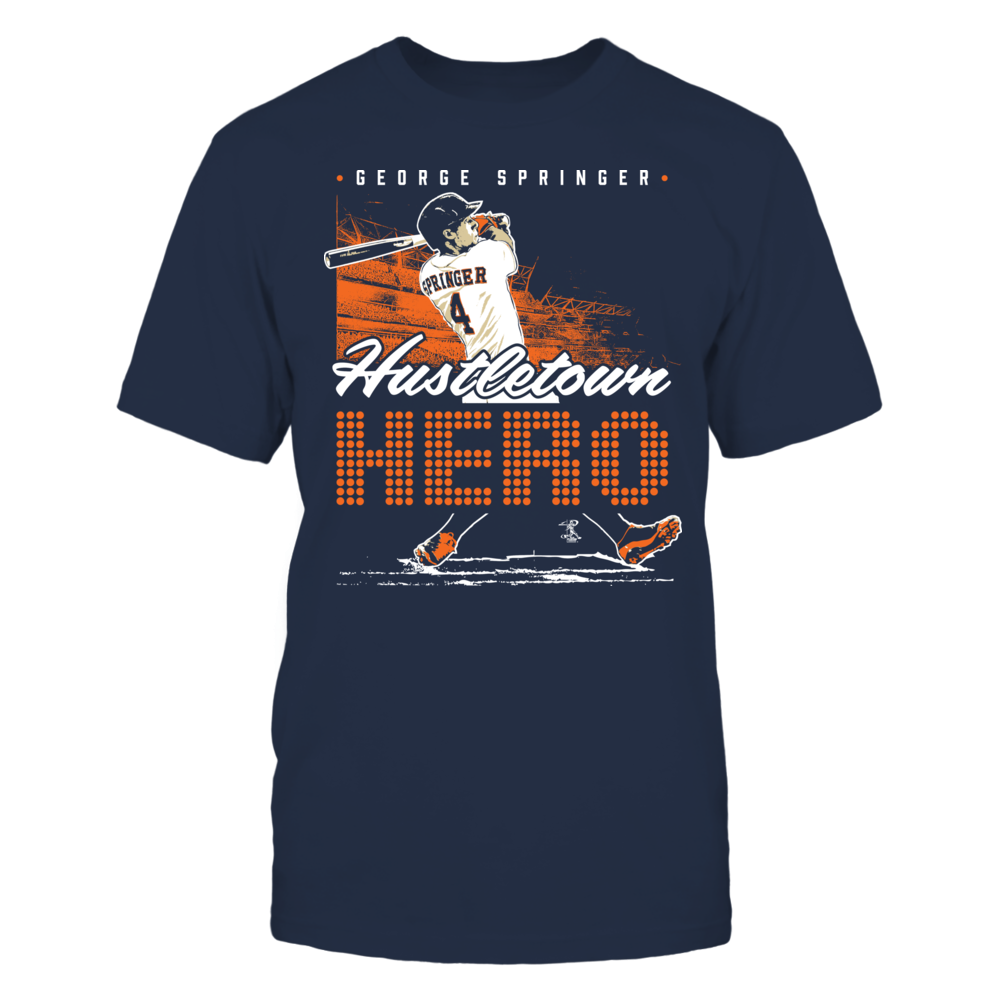 George Springer - Hustletown Hero Front picture