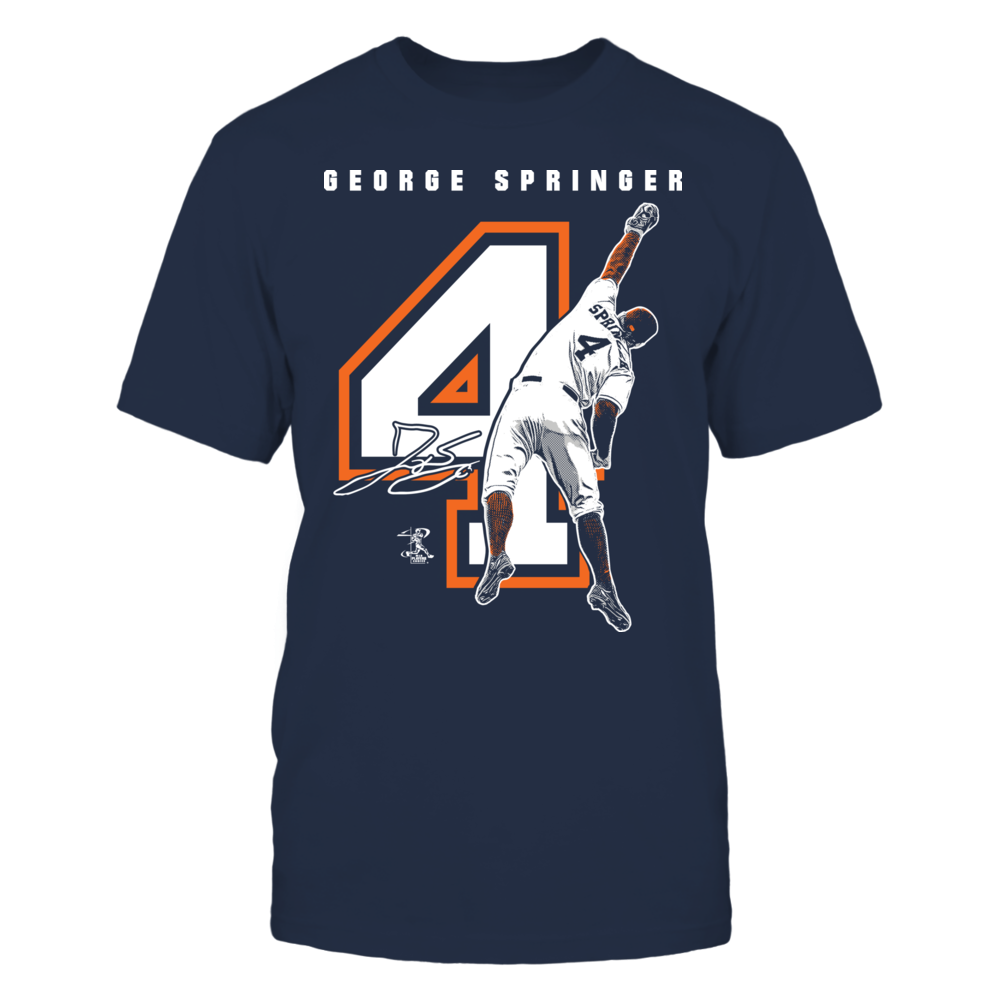 George Springer - Player Number Front picture