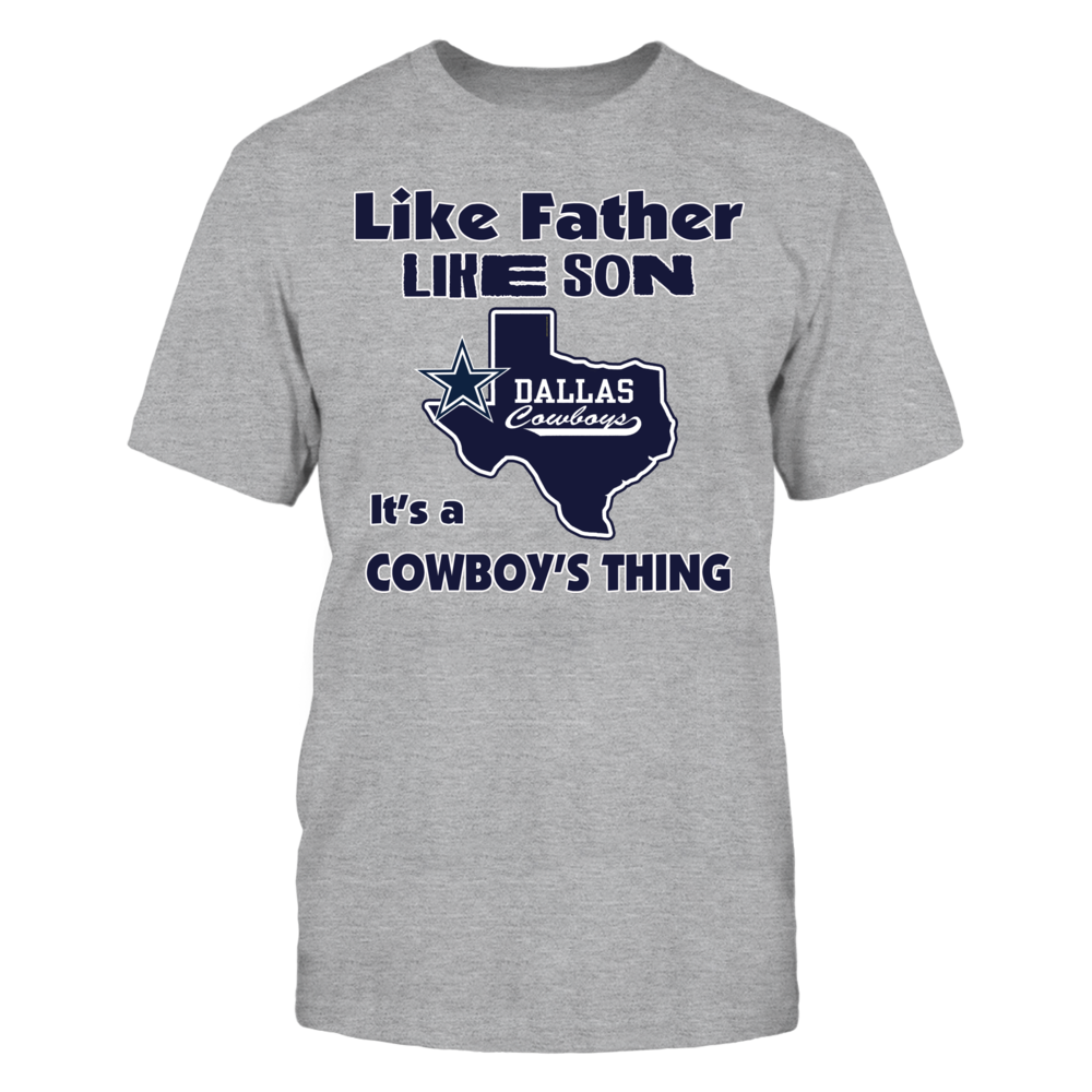 LIKE FATHER LIKE SON - IT'S A COWBOY'S THING Front picture