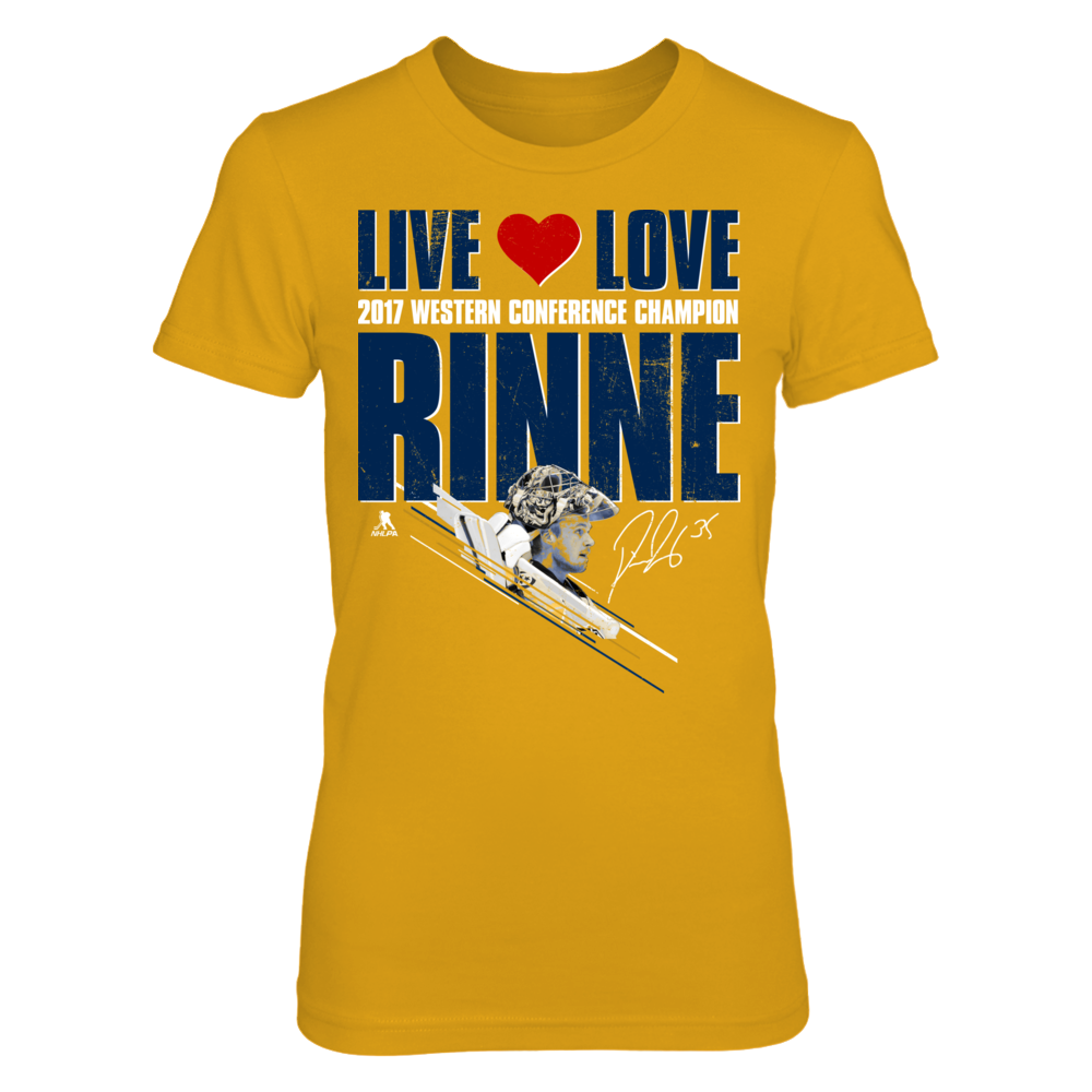 Live Love Rinne - 2017 Western Conference Champion Front picture