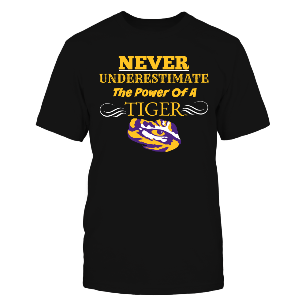 LSU Tigers Never Underestimate the Power of a Tiger. FanPrint